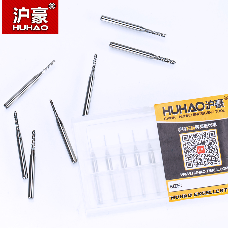HUHAO 10 sztuk / partia 3.175mm Węglik wolframu Corn Cutter cięcia - Obrabiarki i akcesoria - Zdjęcie 4