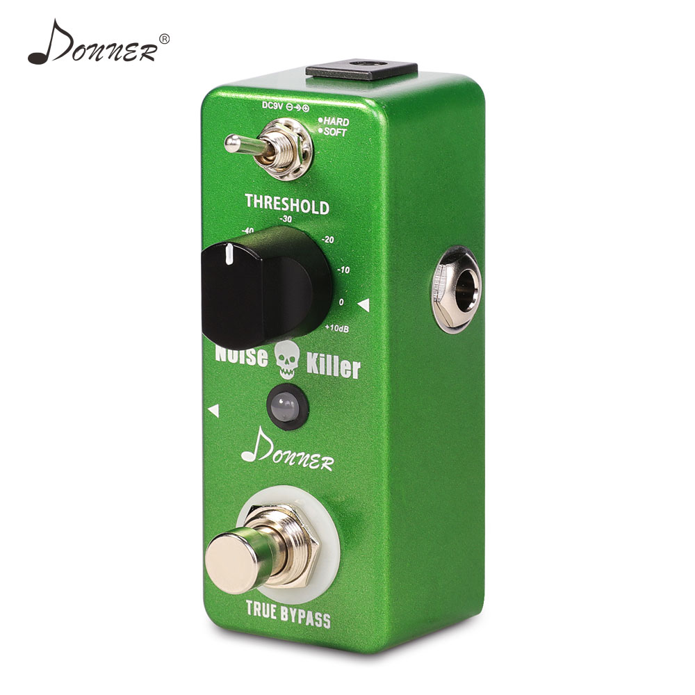 donner noise killer gate effect pedal noise reduction guitar pedal suppressor true bypass. Black Bedroom Furniture Sets. Home Design Ideas