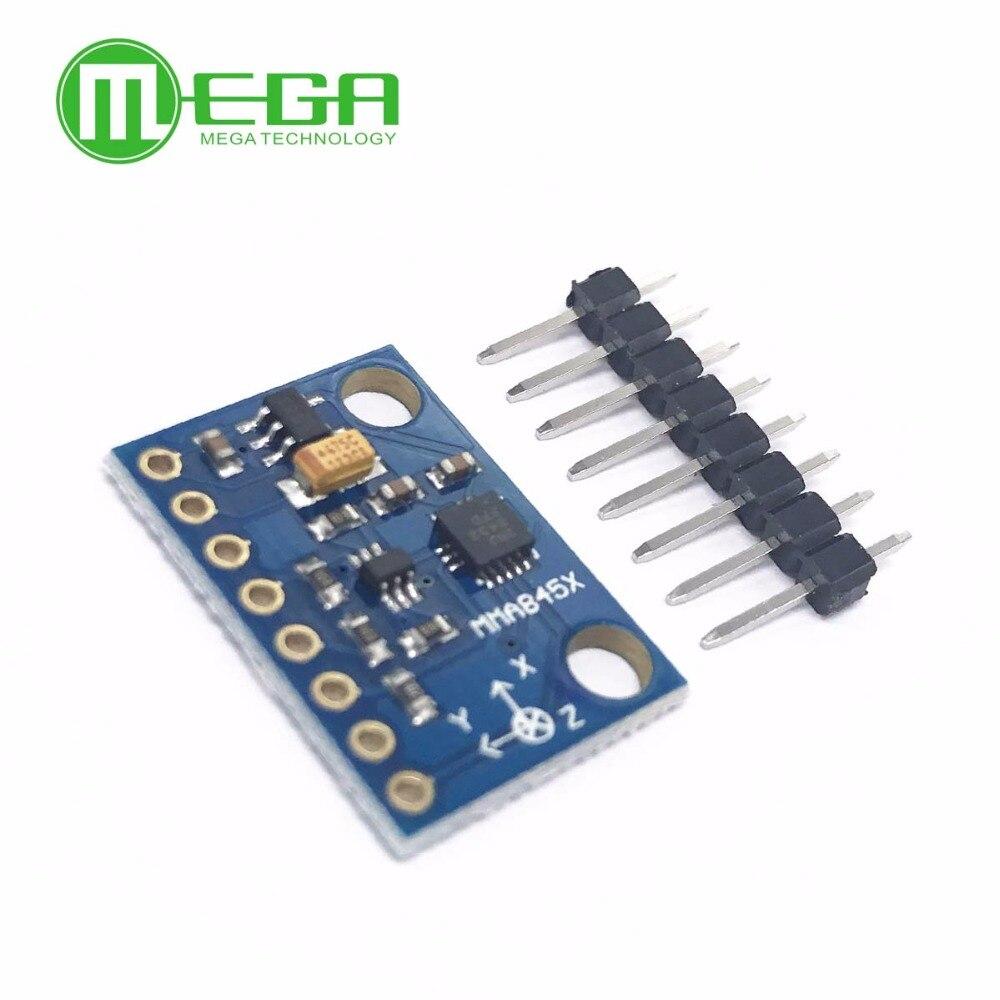 module digital triaxial accelerometer precision tilt 3-Axis MMA8452Q MMA7361