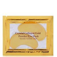 Preço por atacado ddp 10000 pares de ouro olho remendo anti envelhecimento rugas beleza colágeno máscara olho