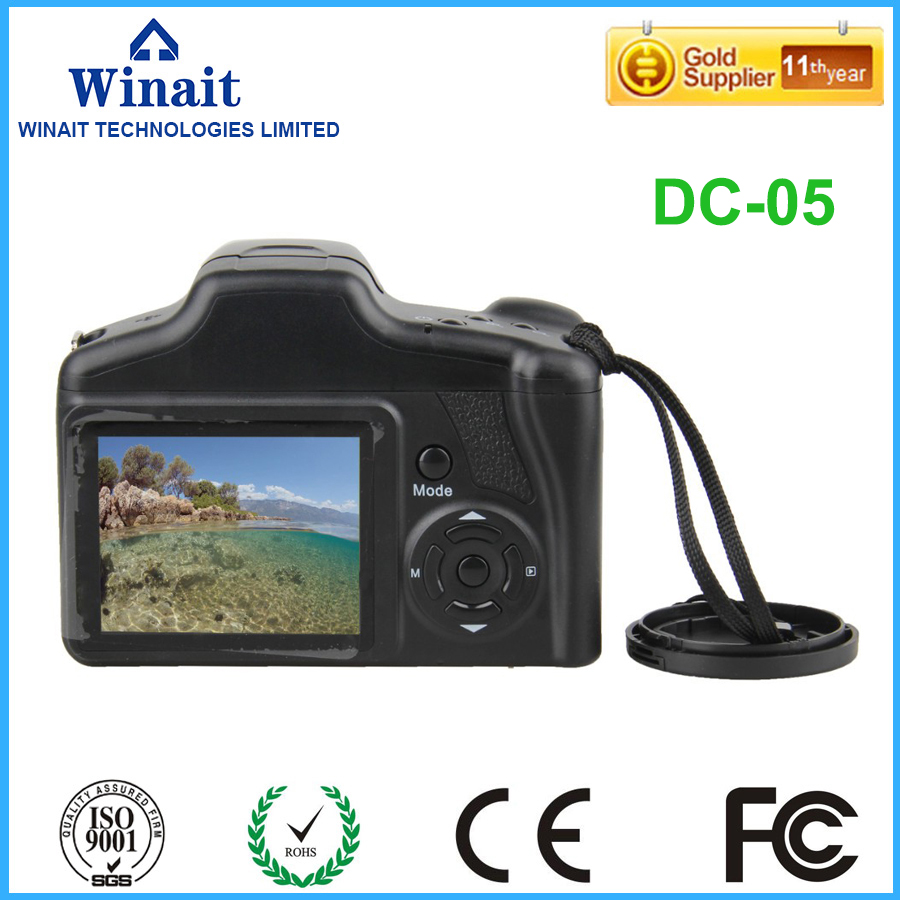 Good Selling winait Cheap digital telescopic camera DC-05 with 2.8'' TFT display original s02 40276 maxon dc motor 144474 selling with good quality