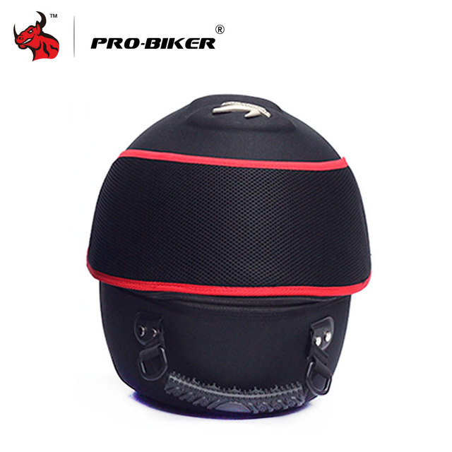 PRO-BIKER Motorcycle Bag Moto Helmet Bag  Motorbike Travel Multifunction Tool Tail Bag Handbag Luggage Carrier Case 2