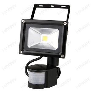 Detector PIR Motion Sensor Security Flood Light Lamp 20W Garage Warehouse IP65