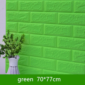 DIY Self Adhensive 3D Brick Wall Stickers Living Room Decor Foam Waterproof Wall Covering Wallpaper For TV Background Kids Room 11