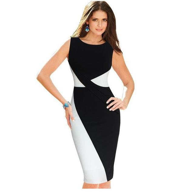 Nice New Plue Size Women Elegant Sching Sleeveless Casual Party Work Fit Body Sweat Pencil Jacket