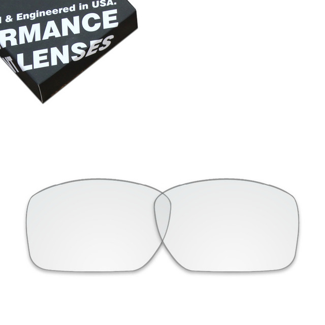 806f3157ef ToughAsNails Replacement Lenses for Oakley Big Taco Sunglasses Clear Color ( Lens Only)