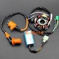 Racing CDI GY6 150 8 Polos Magneto Estator Bobina Caja de la Bobina de Encendido de Rendimiento 150CC ATV Go Kart