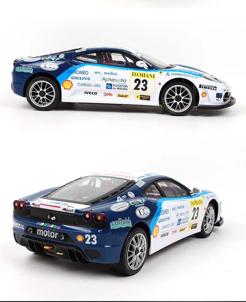 Image 5 - Remote control car for F430 special edition 4WD drift racing champion 2.4G off road Rockstar wireless remote control car-in RC Cars from Toys & Hobbies