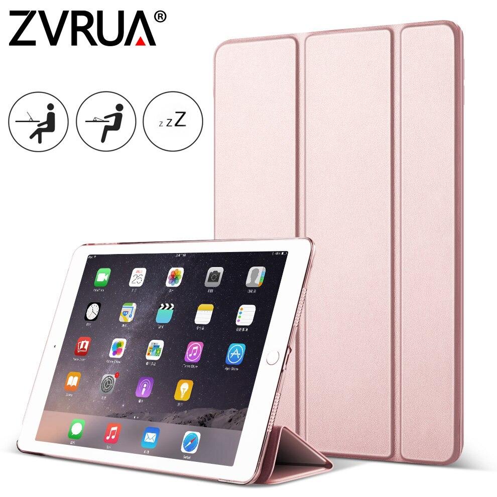 где купить For iPad Air2 Air1, ZVRUA YiPPee Case Slim Pu Leather Smart Cover for Apple iPad Air 1/ 2 Case Sturdy Stand Auto Sleep / Wake по лучшей цене