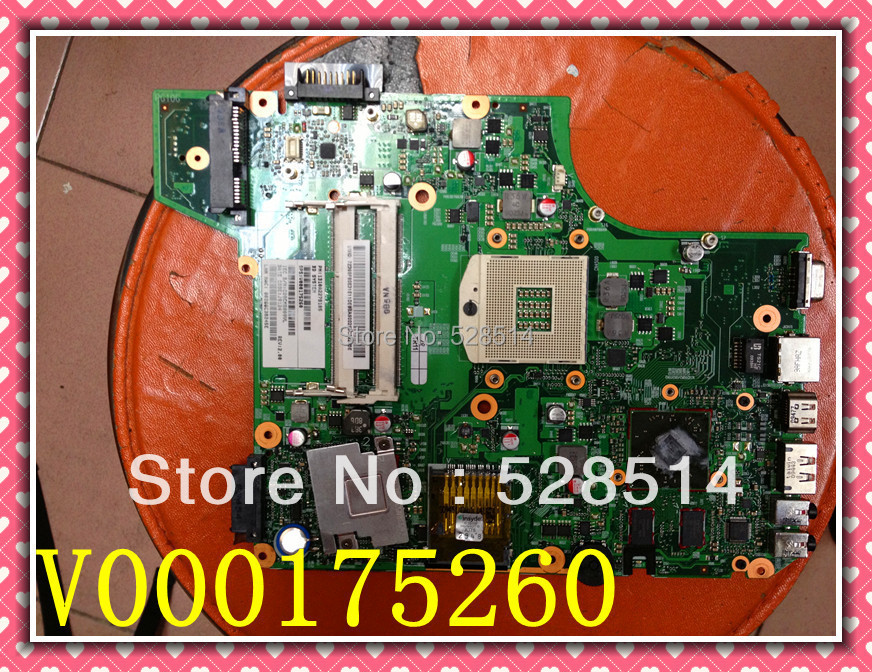 Bargain Price for Toshiba L510 Laptop motherboard V000175260 DDR3 notebook  Verified working l510 integrated motherboard for t oshiba laptop l510 v000175210