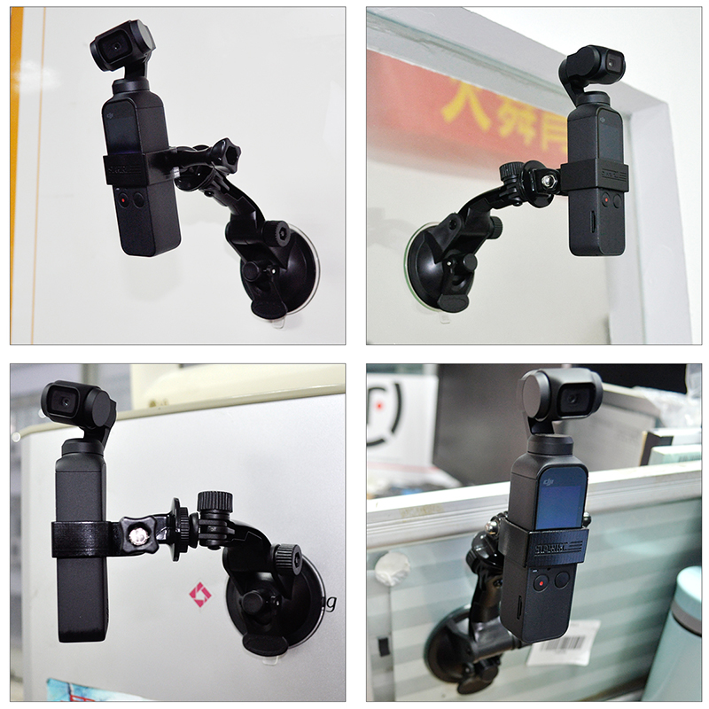 DJI OSMO Pocket Mount Bracket for Car Motorcycle Cycling Holder for DJI OSMO Pocket Handheld Gimbal Expansion Accessories 3