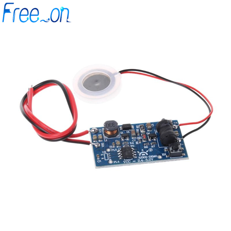 Humidifier DIY Kit 5V Mist Maker Transducer Humidified Plate Accessories + PCB Module D16mm