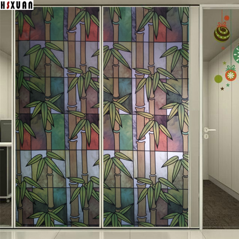 bamboo decorative window film - Decorative Window Film