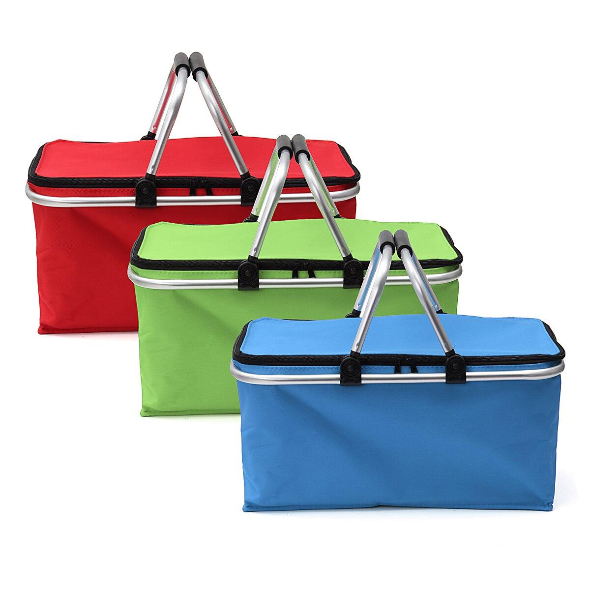 Image result for folding picnic basket