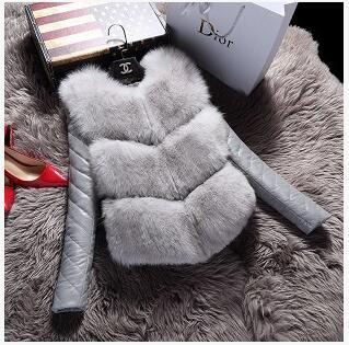 Herbst//Winter Frauen Baumwolle Jacke New Fashion einreiher langhülse kunstpelz Beiläufige Dünne Große yards Ledermantel YD12