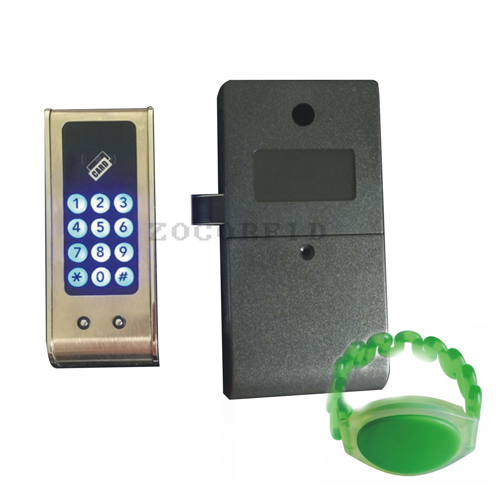 125Khz EM RFID card or Digital Electronic Password Keypad Number Cabinet Code Locks Intelligent Cabinet Lock ...