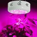 72leds 216W High Power UFO Led Grow Light  Full Spectrum 42Red+12Blue+6warm white+6white+3IR+3UV for plants Flowering Lighting