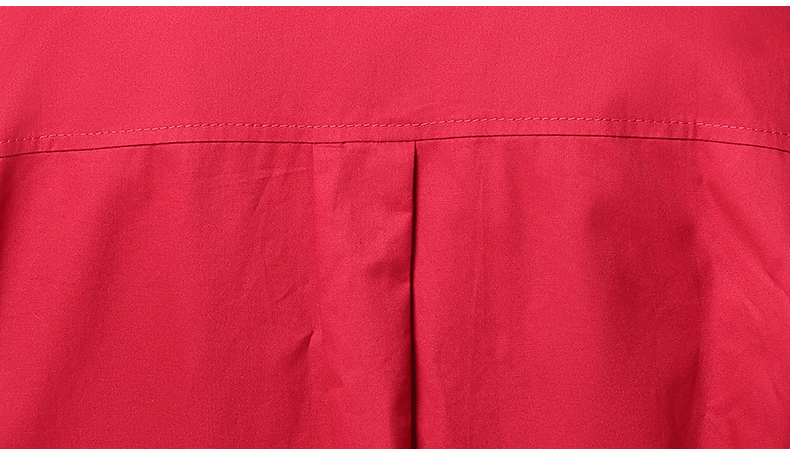 WAEOLSA Woman Casual Loose Shirt Blue Red Cotton Top Women Print Oversized Blouses Plus Size Top Lady Leisure Shirt Spring Autumn (1)