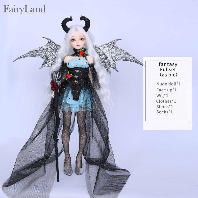 Märchenland Fairyline Ria 1/4 bjd sd Puppen Modell Mädchen Jungen Augen Hohe Qualität Spielzeug Shop Harz Minifee