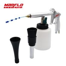 Marflo Tragbare Tornado Schäume Gun Reinigungspistole für Auto-innenreinigung Werkzeug Tornador Kostenloser Versand