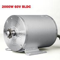 2018 New 60V 2000W Electric Bike Brushless Motor For Scooter Bicycle Engine Tricycle Wheelbarrow BLCD For e Bike 60V Battery