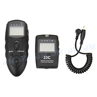 JJC Wireless Timer Remote W Cable A For Canon EOS 1D Mark II N 1D X