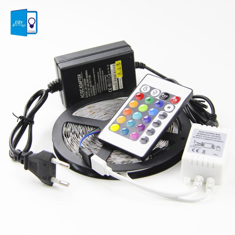 [DBF] Non-waterproof 5M SMD RGB 3528 LEDstrip 300 LEDS ...