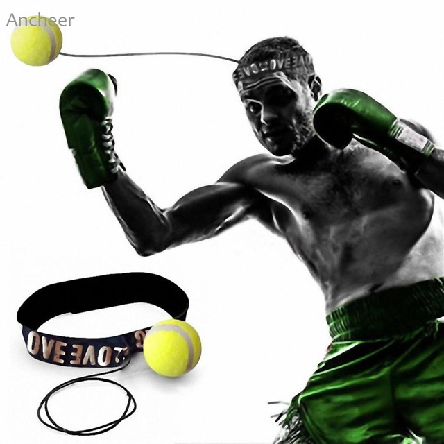 Оборудование для фитнеса для вас Эластичный регулируемый бороться мяч с руководитель группы Бокс удар рефлекс Скорость Training