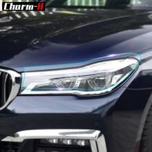 Stylizacja przedniego reflektora ochronna przywrócenie folia ochronna dla BMW F30 F10 F25 X5 F15 X6 F16 G30 F25 F45 G11 G12 akcesoria