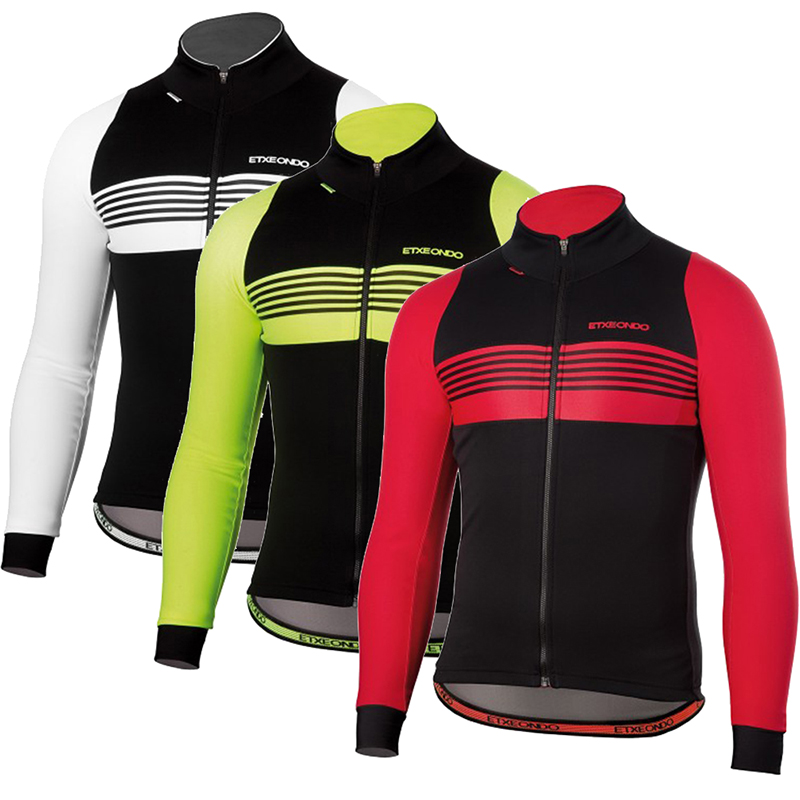a18f12987 Detail Feedback Questions about Team Etxeondo Cycling Jersey For Men Long  Sleeve Autumn Winter Thermal Fleece MTB Bike Cycle Tops Clothing Maillot  Ropa ...