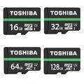 Toshiba Карта Micro Sd 64 ГБ 32 ГБ 16 ГБ 128 ГБ MicroSDSDXC Class10 UHS-I 80 МБ/С. SDHC TF карта 64 ГБ 128 ГБ карты Памяти