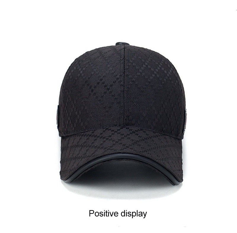 black trucker hat 3