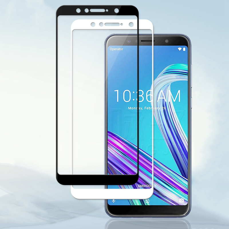 Tempered <font><b>Glass</b></font> For Asus ZenFone Max Pro M1 ZB602KL <font><b>ZB</b></font> ZB602 602 <font><b>602KL</b></font> KL X00TD Full Cover Screen Protector Protective <font><b>Glass</b></font> Film image