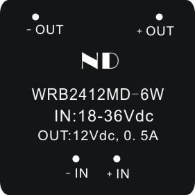 цена на 2pcs 2016 new dc dc step-down converter 24V to 12V 6W isolated dc-dc power module quality goods