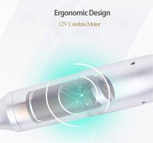 Image 4 - HD video Permanent Makeup Machine Tattoo Machine Rotary Pen with needle For Microblading Eyebrow Lip Gun Tatoo Pen Kits eu