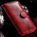 KISSCASE Luxury Vintage Snake Skin Pattern Case For iPhone 7 6S 6 Leather Case Fashion Wallet Cover For iPhone 7 Plus 6 6S Plus