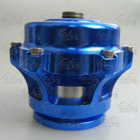 MOFE 50mm Height Quality Aluminum V band Q Blow Off Valve With Flange Clamp Black Blue Silver For Racing car