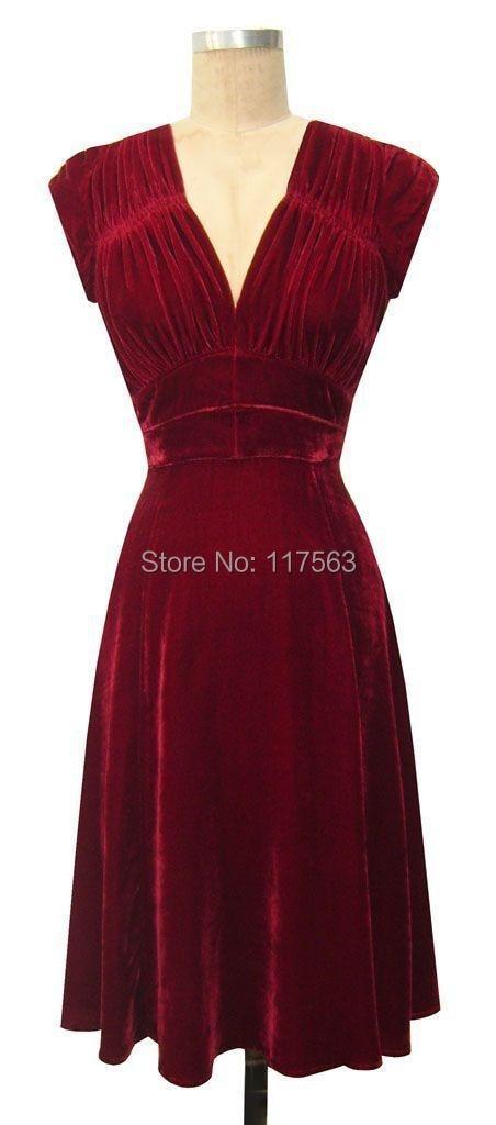 Online Get Cheap Velvet Cocktail Dress -Aliexpress.com - Alibaba Group