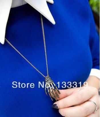 Fashion imitation pearl pendant GothicTalons Necklace Jewellery Wholesale Hot Sales,