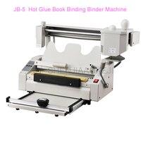 RD-JB-5 A4 Buch Bindung Maschine Schmelz Kleber Buch Papier Binder Puncher 220 V/110 V Hohe Geschwindigkeit bindung
