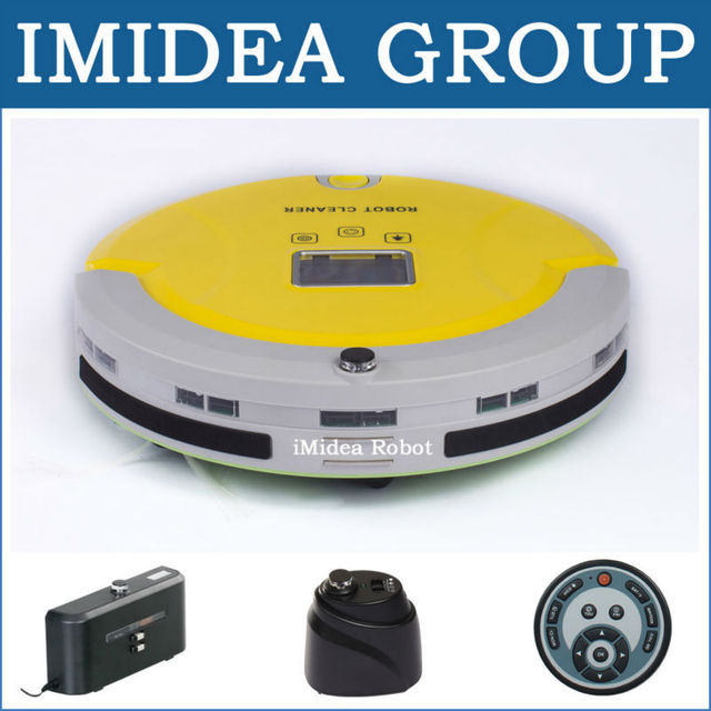 Multifunctional Vacuum Cleaning Robot Sweep,Vacuum,Mop,Sterilize,LCD,Touchpad,Schedule,Auto Charge,2 Virtual Wall, Avoid Bumping