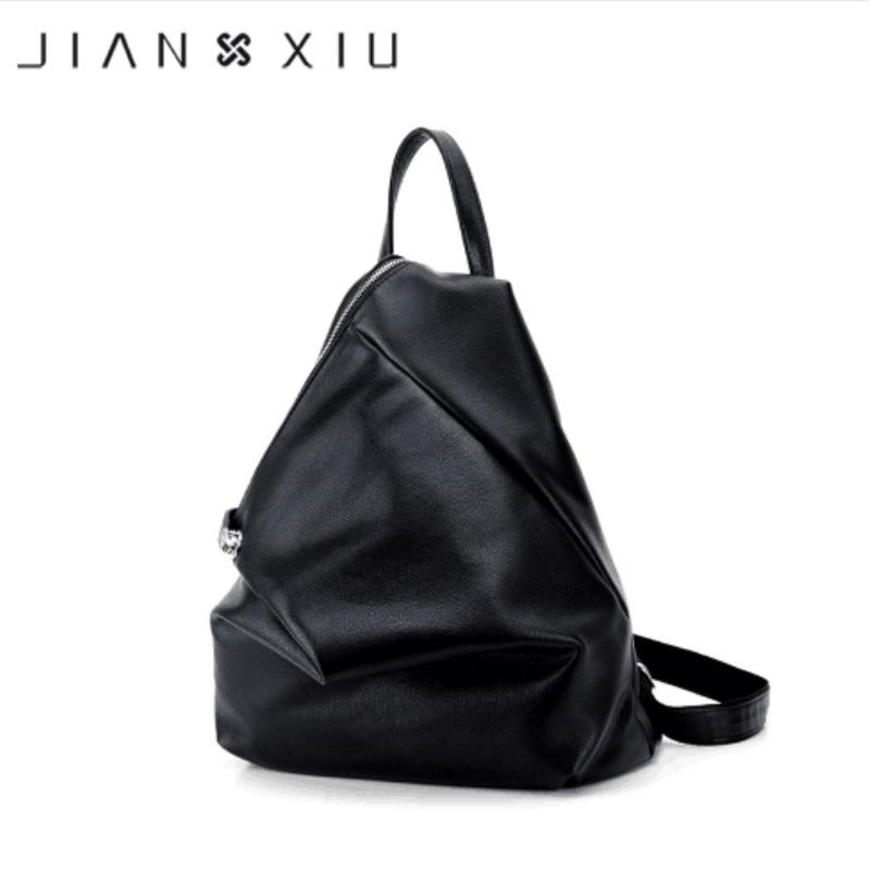 Luxury Famous Fashion Backpack Mochila Feminina Women Bag Pu Leather Backpacks Travel Multifunctional 2018 Solid Color Back Pack