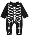Autumn Spring Newborn Kids Long Sleeve Skull Romper Baby Boys Girls Halloween Rompers Jumpsuit Clothes Outfit Costume