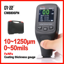 Automotive Car Paint Thickness Gauge Gauges of Paint and Varnish Film Coating for Cars Meter CM8806FN Fe NFe 2 in 1 Nicety