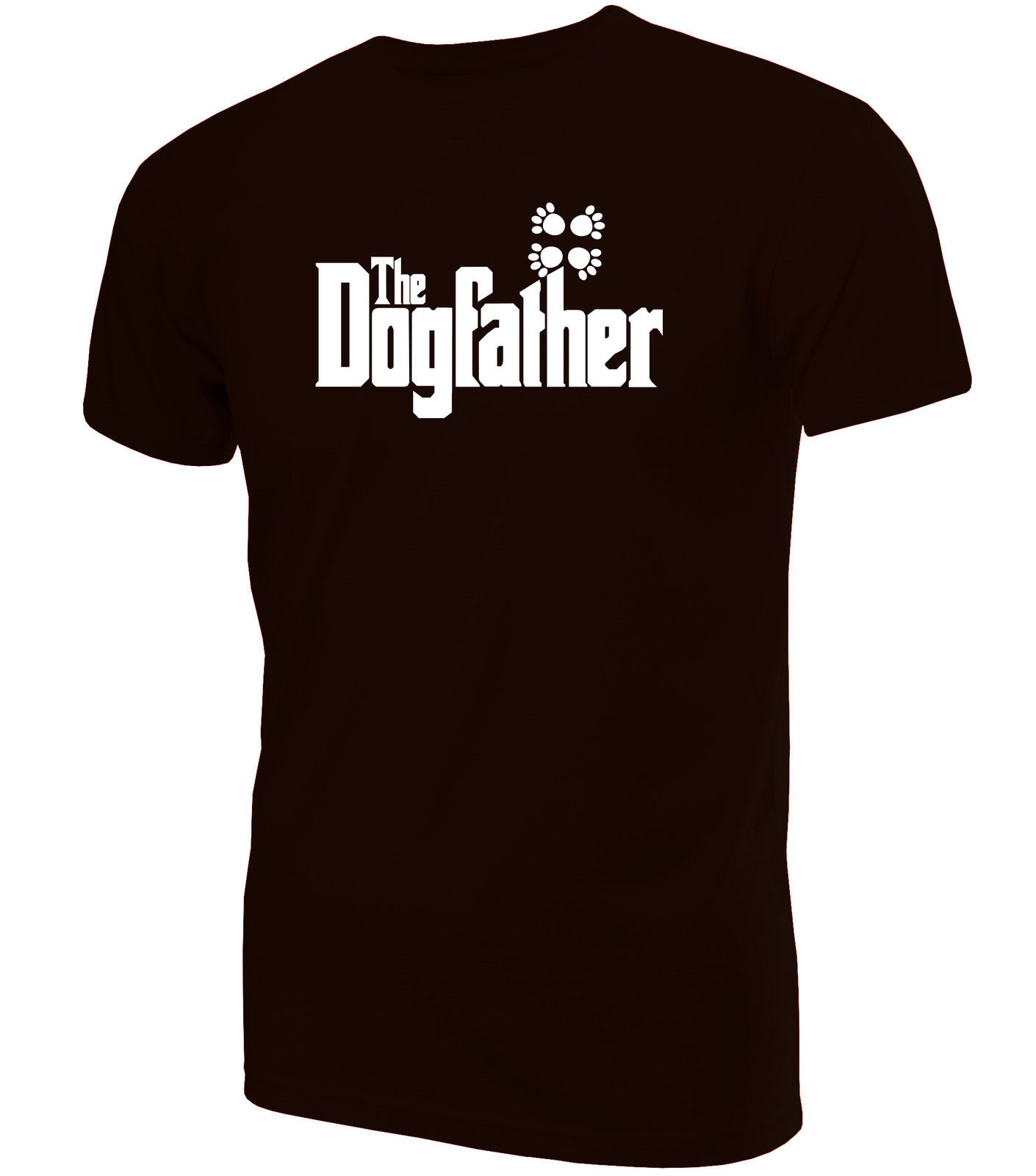 The DogFather Printed T-Shirt ~ Novelty Birthday Present or Gift All Sizes  100% cotton tee shirt,  tops wholesale tee