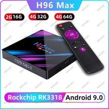 H96 MAX 9.0 Android TV Box Rockchip RK33
