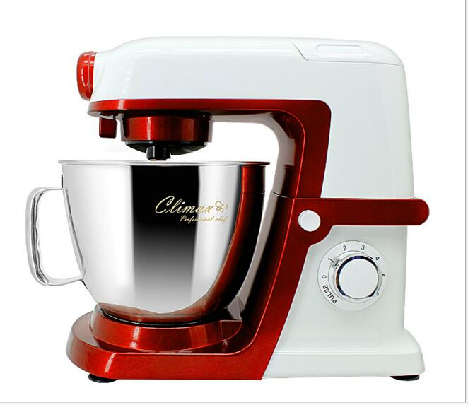 High quality 6L food mixer 220V 240V 1500W stand mixer cook machine hot sale