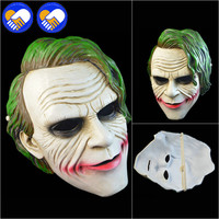 A TOY A DREAM Joker Pennywise Mask Full Face Model Horror Clown Latex Halloween Party Hoorible