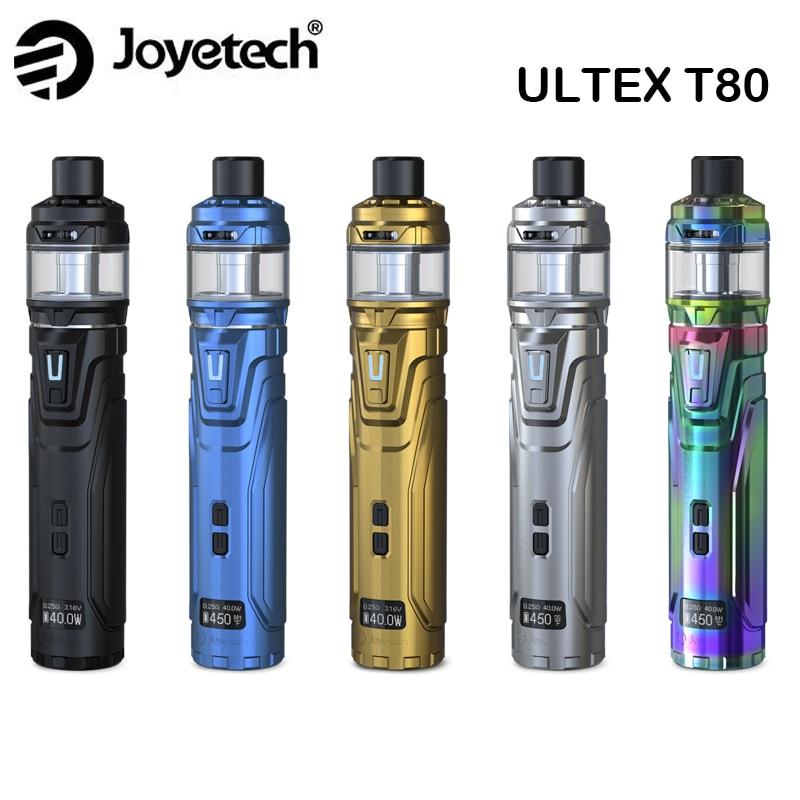 Kit Original Joyetech ULTEX T80 80 W boîte ULTEX Mod avec CUBIS Max réservoir 5 ml adapté NCFilmTM bobine Cigarette électronique Kit Vape