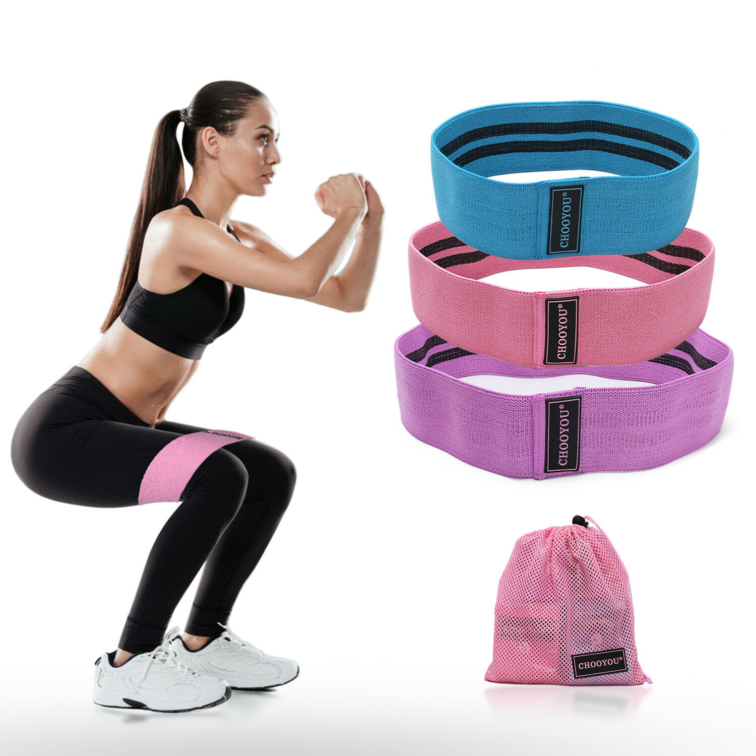 Resistance Band Exercise Ballet Stretching Band Aerobic Flexibility Gym Yoga Stretching Training Fitness Workout Band Pull Up